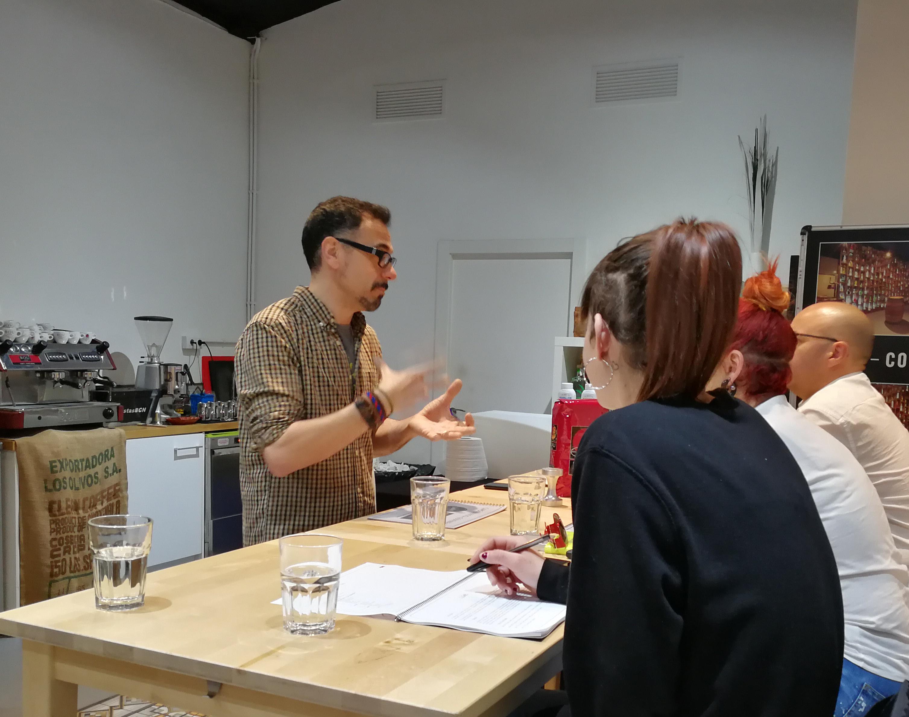 formación para profesionales del café